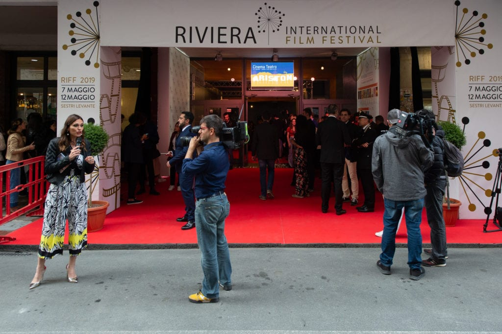 Sestri capitale del cinema: red carpet come a Cannes e Venezia